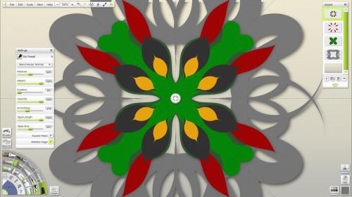 ArtRage Paint Symmetry