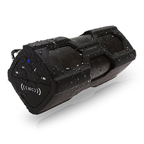I-Venstar Waterproof Sport Bluetooth Speaker Angle View