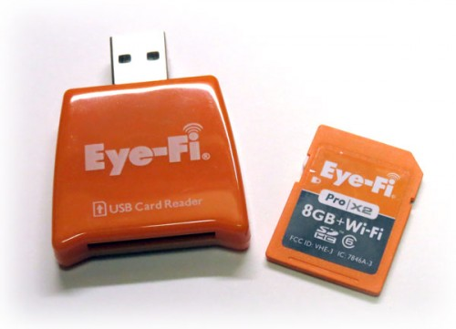 Eye-Fi Card with Reader