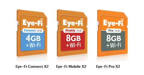 The Eye-Fi Product Lineup