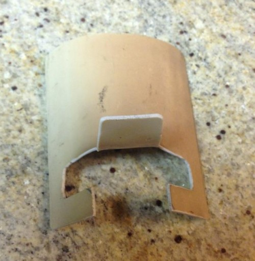PVC iPad Stand