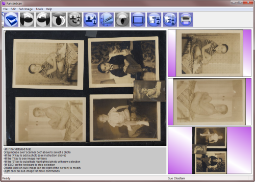 RansenScan Auto Image Detection