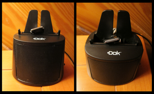 DOK CR15 Front and Top View