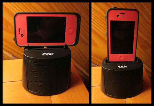 DOK CR15 with Phone