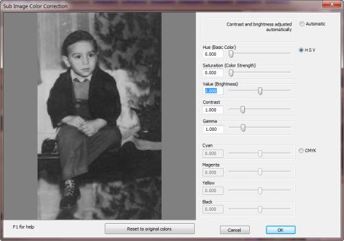 RansenScan Color Correction