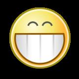 Emoticon Grin